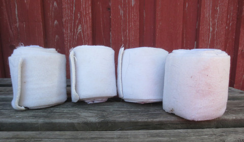 Valkoiset yhdistelmäpintelit 4 kpl