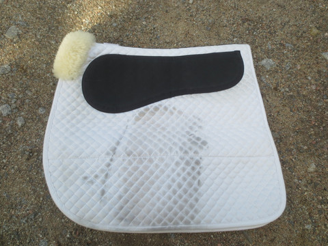 Barnsby Grip Pad satulahuopa valkoinen COB