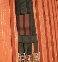 UUSI kankainen satulavyö 125 cm joustoilla