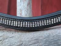 UUSI Wembleyn musta timantti-otsapanta 42 cm