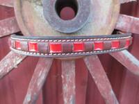 Ruskea retro-otsapanta 35 cm