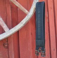 Satulavyö, kankainen ja topattu, 95 cm
