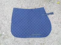 Umbria-merkkinen tummansininen satulahuopa FULL