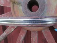 Cheval otsapanta, ruskea, hopeakoriste 42 cm