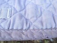 Jacson vaalean luumun värinen neliöhuopa, yleismalli PONY