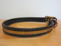 Musta-kultainen panta, pituus 42-44 cm