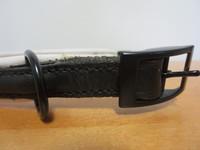 Musta-valkoinen peruspanta, pituus 38-39 cm