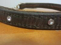 Puolikiristävällä ketjulla varustettu Bling-bling-panta, pituus 47 cm