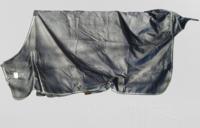 UUSI fleecevuorellinen sadeloimi, tummanharmaa 155 cm