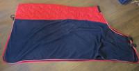 Equest loimi, alaosa fleeceä ja selän päällä paksu toppakangas, 145 cm