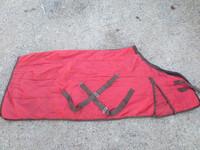 Sisätoppaloimi tiilenpunainen, 155 cm