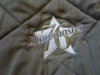 Showmaster neliöhuopa,tummanvihreä yleismalli, FULL
