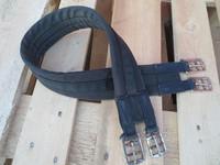 Kankainen satulavyö ohuella toppauksella 100 cm