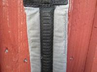 Pehmeä kankainen satulavyö 115 cm
