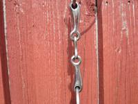 Kolmipalapessoakuolain litteällä keskipalalla, 13 cm