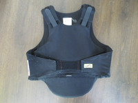 Musta turvaliivi, lasten L/XL