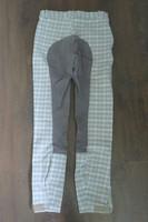 Kauniit harmaat kokopaikkaiset ratsastushousut 170 cm