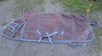UUSI Horzen tummanruskea sisätoppaloimi, 100 g 155 cm