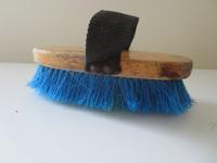 Sininen harja puolipitkillä harjaksilla