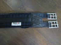 Horze musta kankainen satulavyö 110 cm