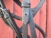 Mustat Claridge House suitset kaksoisturparemmillä iso COB/pieni FULL
