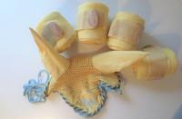 Keltainen setti: 4 kpl lämpöpinteleitä ja COB koon huppu