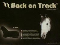 UUSI musta Back On Track fullneck fleeceloimi 145 cm