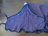 Horse Comfortin liilaruudullinen vohveliloimi 140 cm