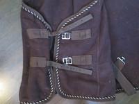 Fahrenheit ruskea fleeceloimi 115 cm, isohkoa kokoa