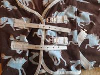 Horzen hevoskuvioinen fleeceloimi 115 cm