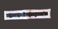 Finn Tackin musta-valkoinen silapehmuste 95 cm