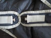 Horzen tummanharmaa kävelykoneloimi n. 200 g vuorella 165 cm