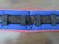 Wahlsten sini-musta-punainen silapehmuste 100 cm