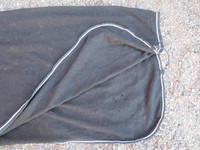 FinnTack musta fullneck fleece 155 cm
