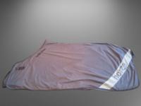 Horzen harmaa erittäin pehmeää fleeceä oleva loimi 165 cm