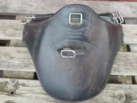 Musta Devoucoux vatsapanssari  satulavyö 145 cm