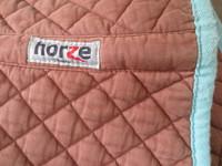 Horze Chooze vaalean ruskea neliöhuopa, yleismalli, FULL