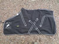 UUSI Musta Eurohunter fleeceloimi 100 cm