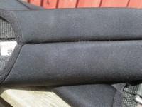 Satulavyö pehmeää neopreenia, 130 cm