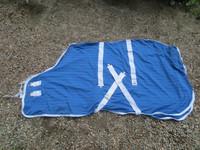 UUSI mutta II-laadun sininen verkkoloimi 125 cm