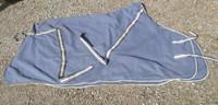 Eurohunter fleeceloimi, liilaan vivahtava 145 cm