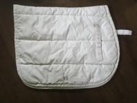 Horse Comfort valkoinen paksuhko satulahuopa FULL