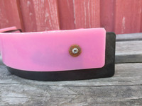 Hikiviila vaaleanpunainen