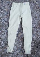 Pikeur kangaspolvipaikkaiset beigen väriset ratsastushousut 170 cm