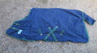 Treadstone tummansininen ulkotoppaloimi vihreillä kanteilla 155 cm