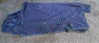 Sininen fleecevuorellinen sadeloimi 165 cm