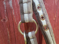 Horzen ruskea-valkoinen nylonriimu FULL