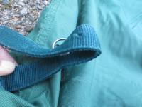 Vihreä paksu ulkotoppaloimen kaulakappale FULL