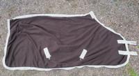 Tummanruskea Showmaster fleeceloimi 125 cm