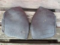 Mustat pehmeät kinnersuojat FULL